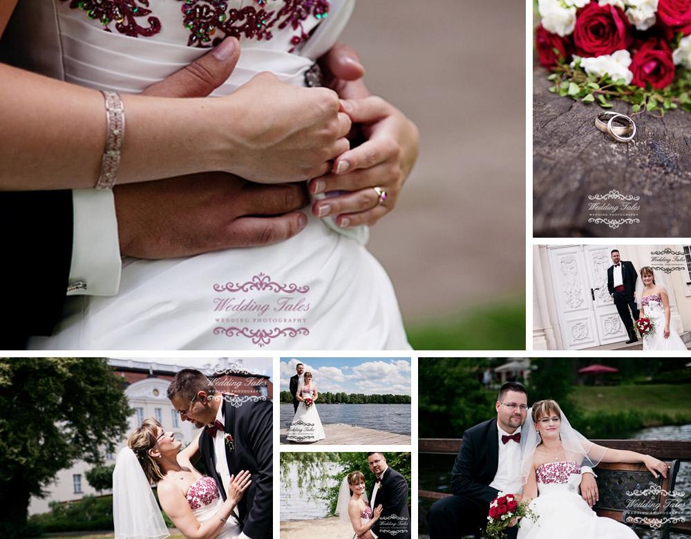 Hochzeitsfotograf in Brandenburg, Hochzeitsfotos am See, Paarporträt