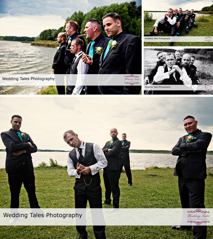 Hochzeitsreportage Insel Falkenstein Rangsdorf bei Berlin, Hochzeitsfotograf Berlin, Gruppenbilder